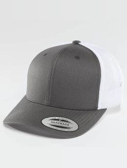 Flexfit trucker cap Retro grijs