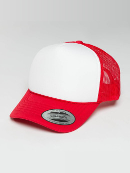 Flexfit trucker cap Curved Visor Foam rood