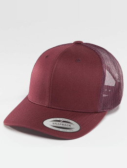 Flexfit Trucker Cap Retro rot