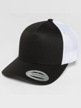 Flexfit Trucker Cap 2-Tone Retro schwarz