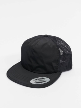 Flexfit Trucker Cap Unstructured schwarz