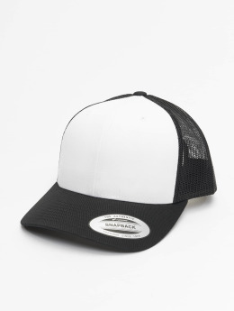 Flexfit trucker cap Retro Colored Front zwart