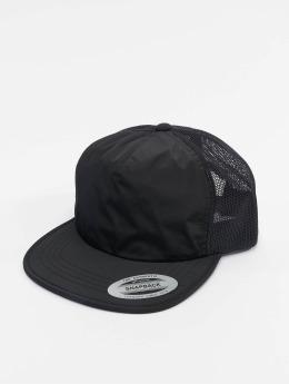 Flexfit trucker cap Unstructured zwart