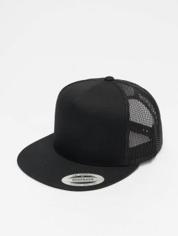 Flexfit Trucker Caps Classic čern