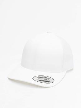 Flexfit Trucker Caps Retro bílý
