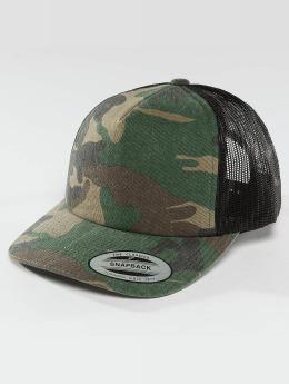 Flexfit Trucker Caps Camo Trucker kamufláž