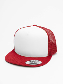Flexfit Trucker Caps Classic red