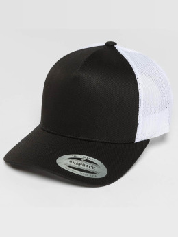 Flexfit Trucker Caps 2-Tone Retro svart