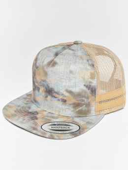 Flexfit Truckerkeps Used Camo khaki