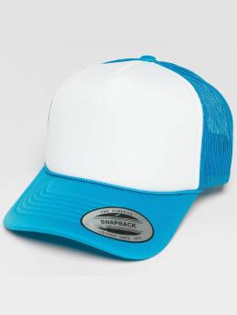 Flexfit Verkkolippikset Curved Visor Foam sininen