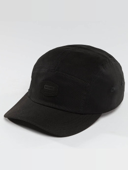 Globe 5 Panel Caps Staple schwarz