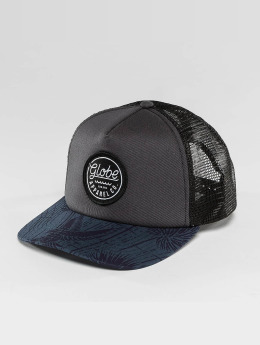 Globe Casquette Trucker mesh Expedition bleu