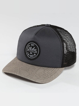 Globe Casquette Trucker mesh Expedition II gris