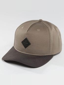 Globe snapback cap Gladstone beige