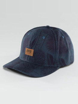 Globe Stanley 6 Panel Snapback Cap Blue Ink