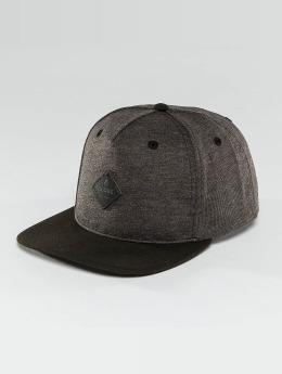 Globe Snapback Caps Gladstone harmaa