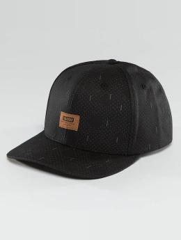 Globe Snapback Caps Stanley 6 Panel musta