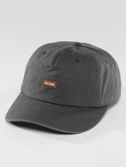 Globe Snapback Caps Dreamer Low Rise musta