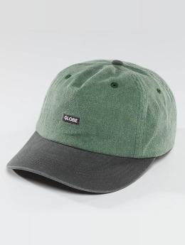 Globe Snapback Caps Dreamer Low Rise vihreä