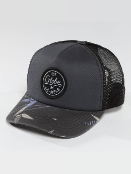 Globe trucker cap Expedition II grijs