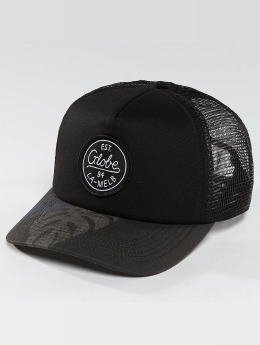 Globe trucker cap Expedition II zwart