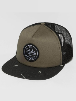 Globe trucker cap Expedition II zwart