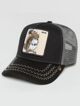 Goorin Bros. Casquette Trucker mesh Squirrel Master bleu