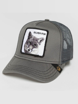 Goorin Bros. Trucker Caps Silver_Fox šedá