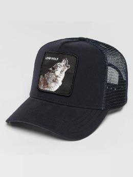 Goorin Bros. Truckerkeps Wolf blå