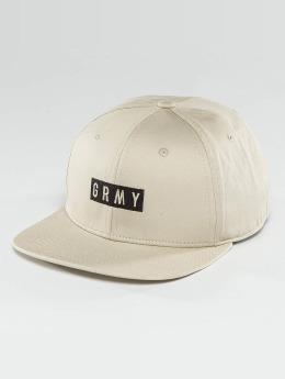 Grimey Wear Casquette Snapback & Strapback Overcome Gravity beige