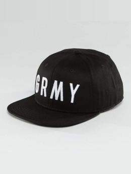 Grimey Wear Casquette Snapback & Strapback Infamous Heritage noir