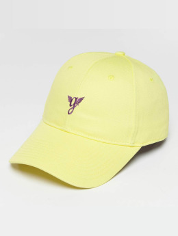 Grimey Wear Snapback Cap Heritage Curved Visor gelb