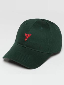 Grimey Wear Snapback Cap Heritage Curved Visor green