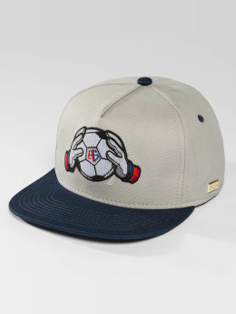 Hands of Gold Gorra Snapback Keeper gris