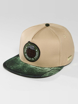 Hands of Gold Snapback Cap Tankin beige