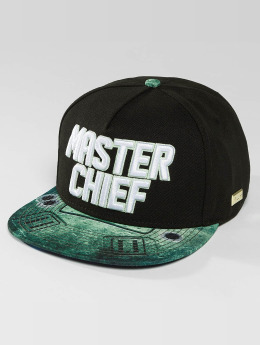 Hands of Gold Snapback Cap Master Chief schwarz