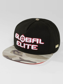 Hands of Gold Snapback Caps Elite musta