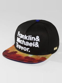 Hands of Gold Snapback Caps G-Thang musta