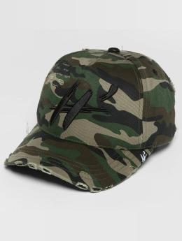 Hechbone Snapback Cap Used camouflage