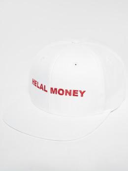 Helal Money Snapback Cap LOGO bianco