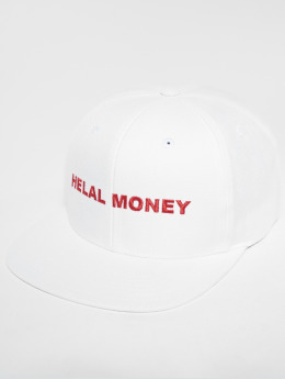Helal Money snapback cap LOGO wit