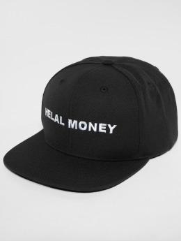 Helal Money snapback cap LOGO zwart