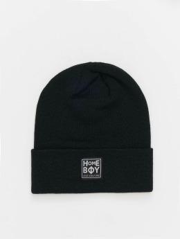 Homeboy Bonnet Bad Hair New School Logo noir