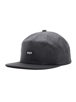 HUF Fitted Cap Bar Logo grau