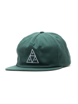HUF Fitted Cap Triangle grün