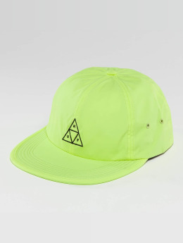 HUF Snapback Caps Formless Triple Triangle gul