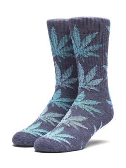HUF Socken Full Melange Plantlife blau