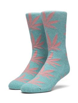 HUF Socken Melange Plantlife blau