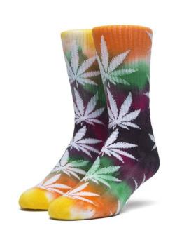HUF Socken Swirl Tye Die Plantlife bunt