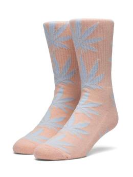 HUF Socken Melange Plantlife pink